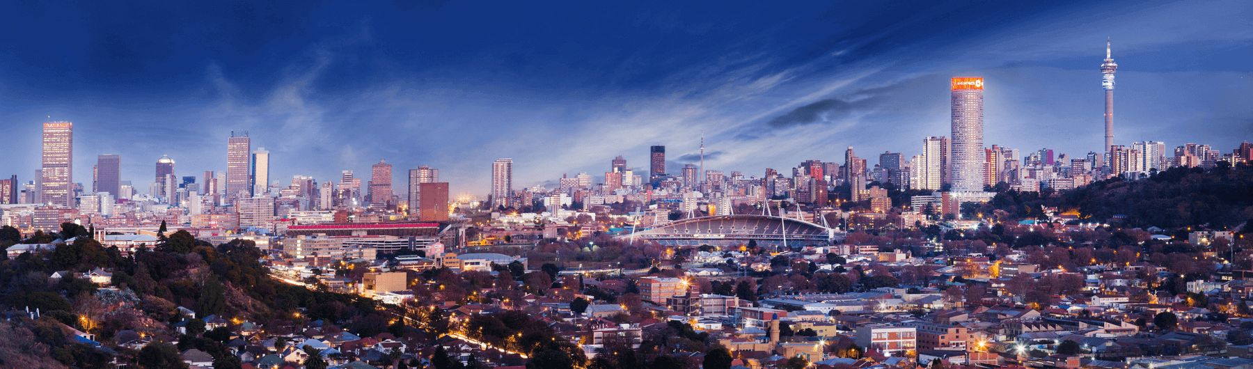 Johannesburg City Scape